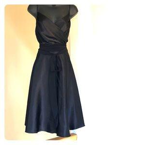 3/$35 FOREVER sz M black tie dress